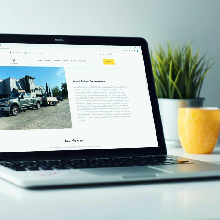 Website Design in Port Arthur Texas