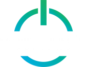 Netbit Logo Colored Circle - white